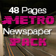 48 Pages Metro Newspaper Bundle