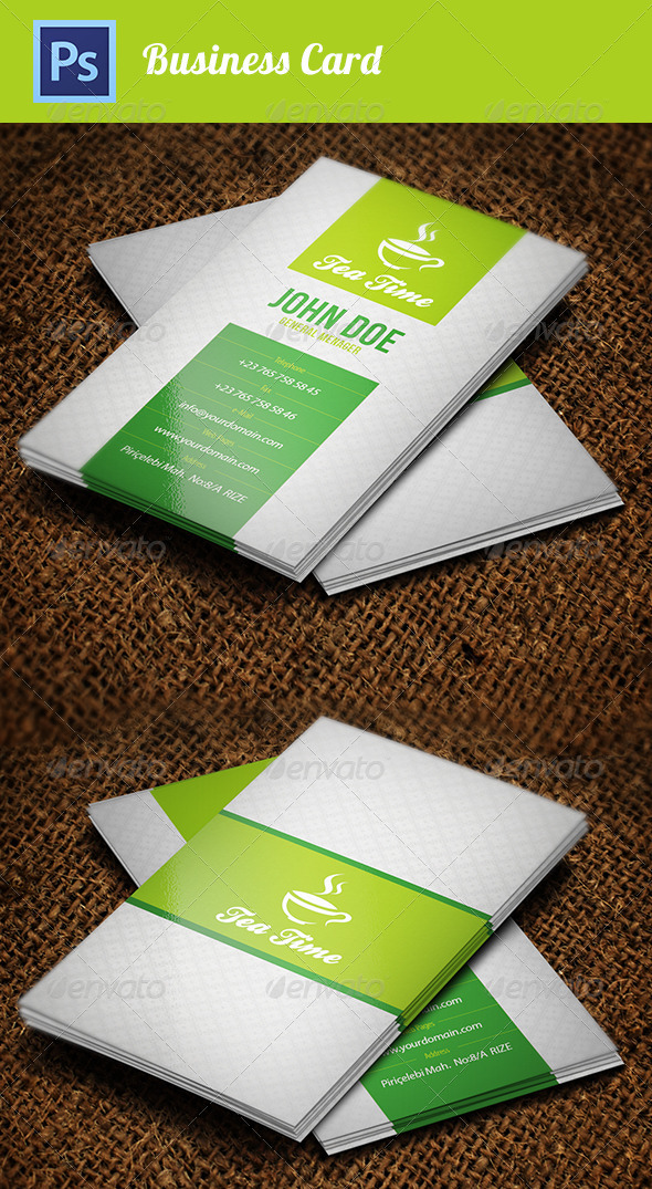 Business Cad Template - Industry Specific Business Cards