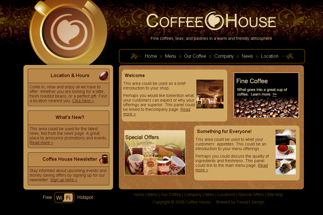 Free Download Coffee House Nulled Latest Version
