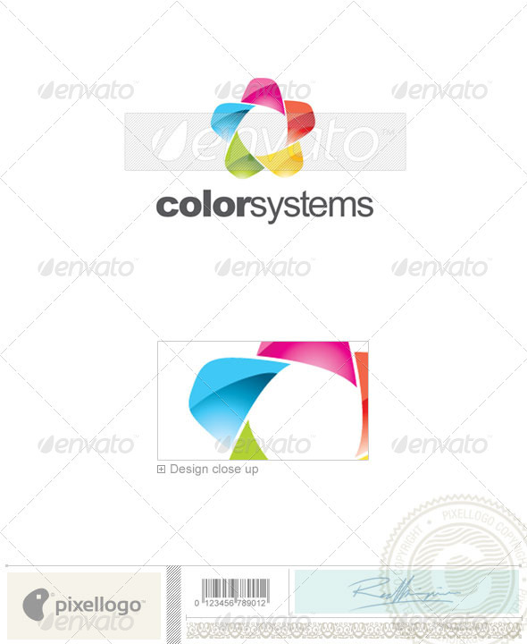 Print & Design Logo - 2317 - Vector Abstract