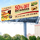 Fast Food Billboard - GraphicRiver Item for Sale