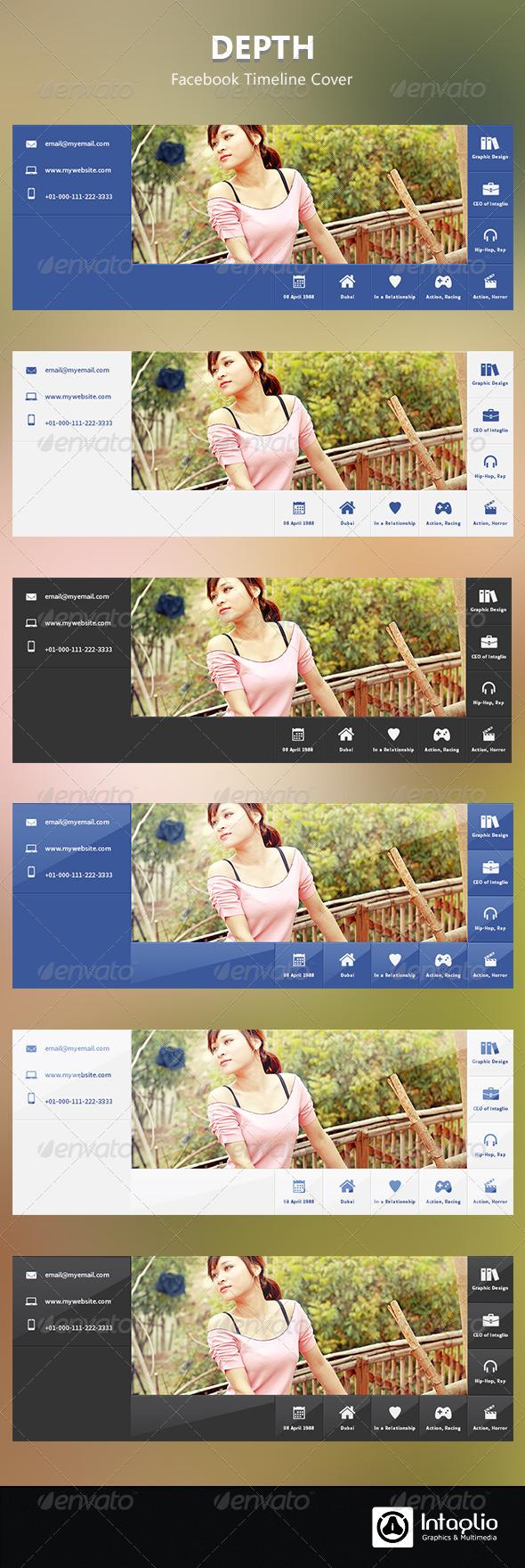 Depth Facebook Timeline Cover - Facebook Timeline Covers Social Media