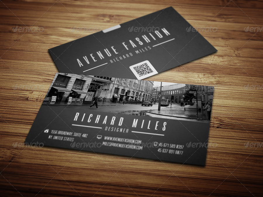 fashion business card by realstar graphicriver