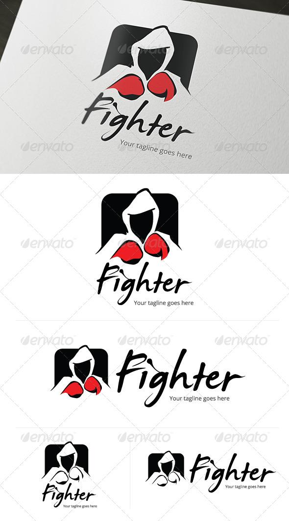 Fighter Entertainment Logo - Abstract Logo Templates