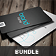 Sleek Business Card Bundle - GraphicRiver Item for Sale