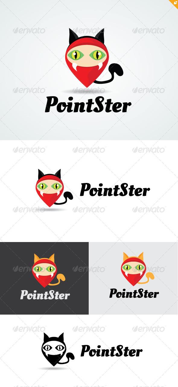Point Monster Logo - Buildings Logo Templates