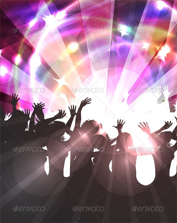 Disco Background - Miscellaneous Seasons/Holidays