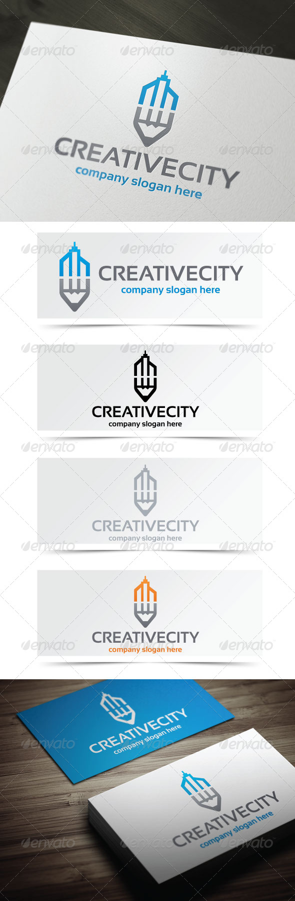 Creative City - Objects Logo Templates