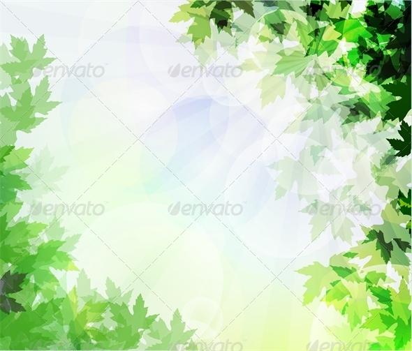 Leafs Background Unfocused - Flowers & Plants Nature