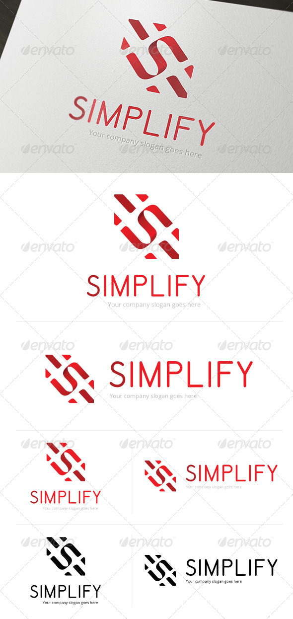Simplify Logo Template - Letters Logo Templates
