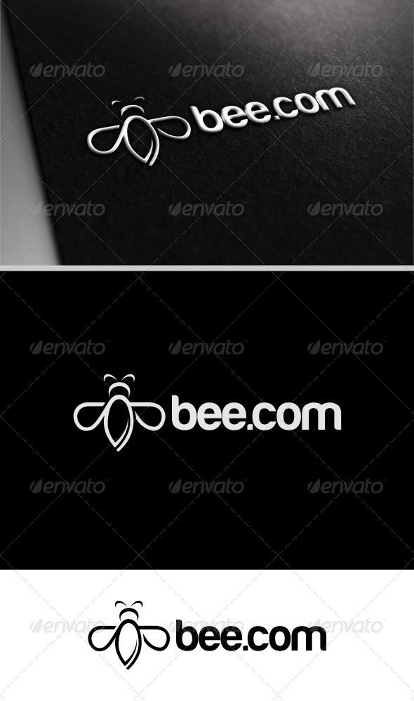 Bee Logo - Objects Logo Templates