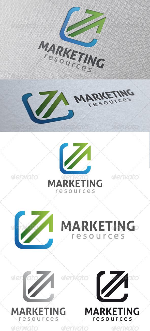 Marketing Logo Template - Symbols Logo Templates