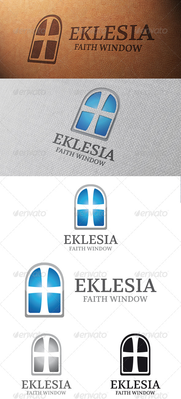 Church Logo Template - Symbols Logo Templates