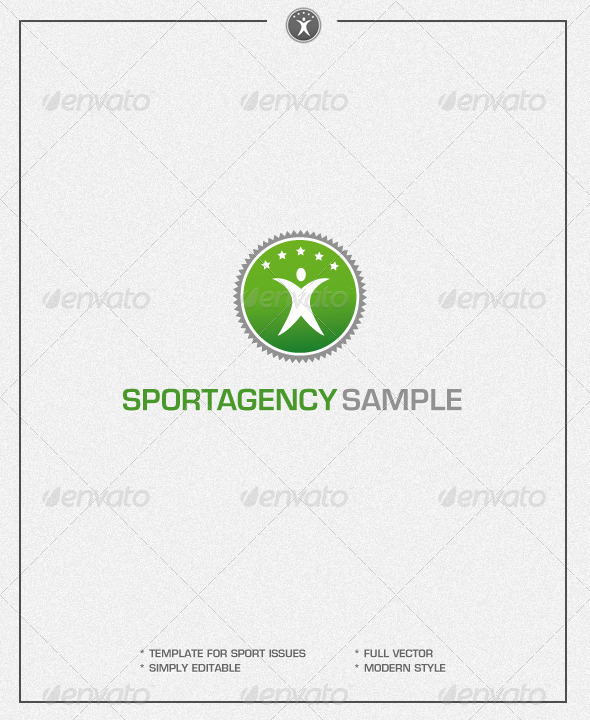 Sports Agency - Logo Template - Symbols Logo Templates