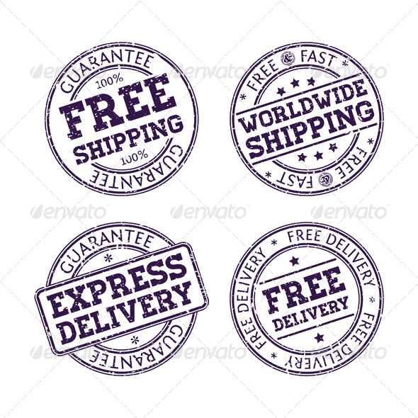 Rubber stamps by aivectors graphicriver for Company stamp template