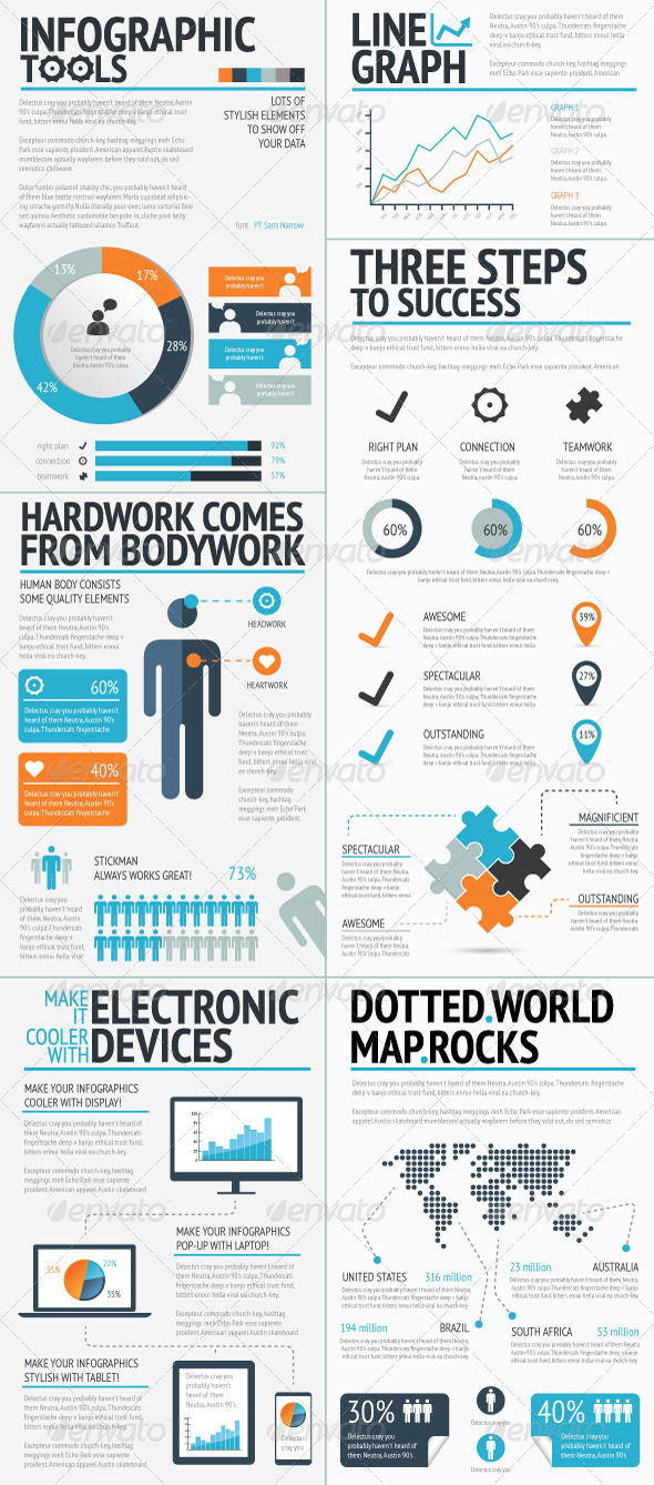 Infographics Tools Set - Infographics