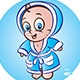 Happy Babies in Bathrope - GraphicRiver Item for Sale