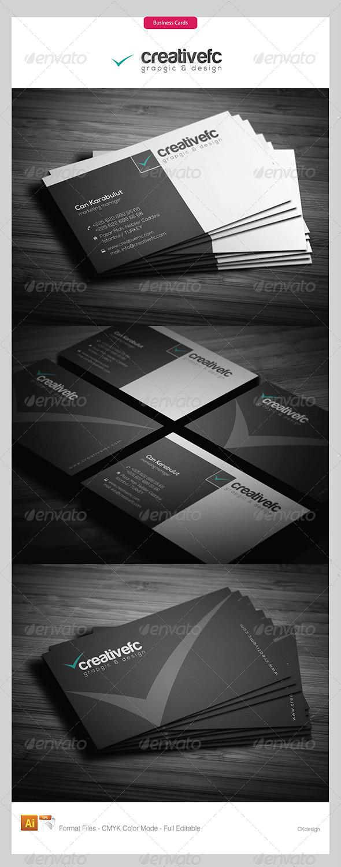Corporate Business Cards 345 - Corporate Business Cards