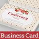 Vintage Rose Business Card - GraphicRiver Item for Sale