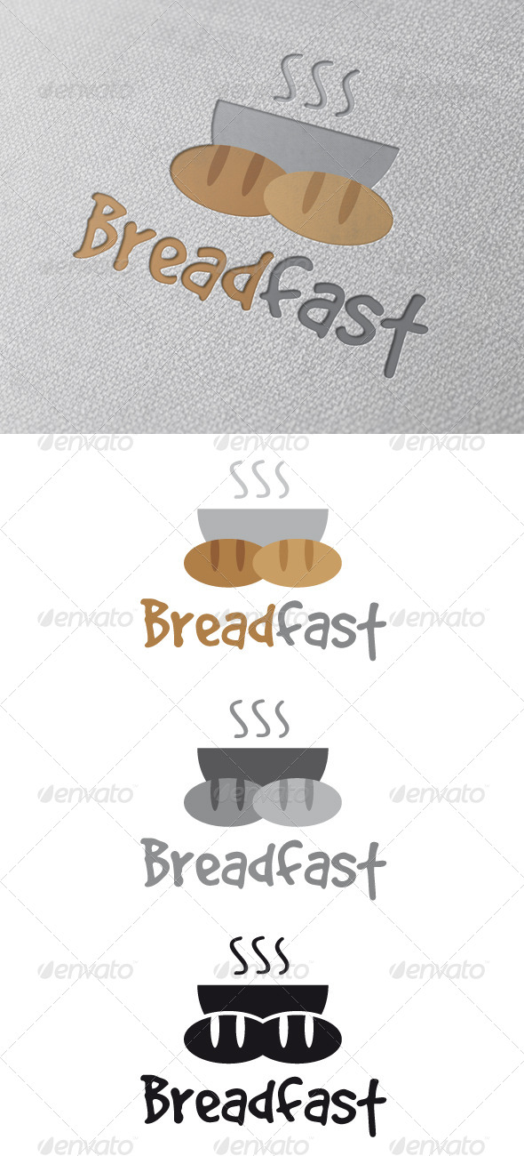 Breakfast Logo Template - Food Logo Templates
