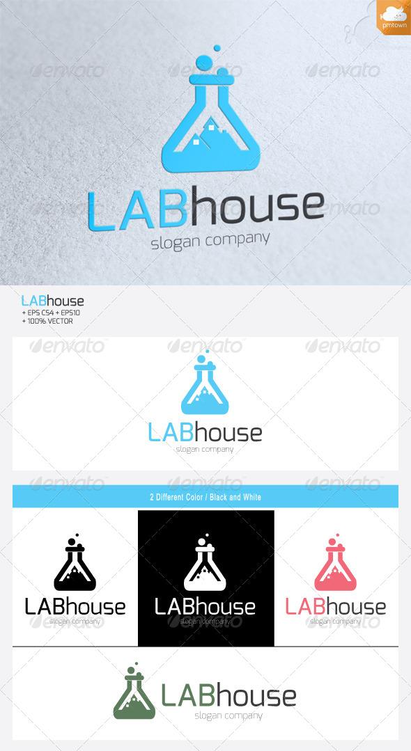 LabHouse - Buildings Logo Templates