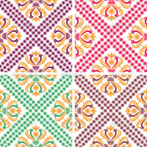 Classic Vintage Patterns - Patterns Decorative