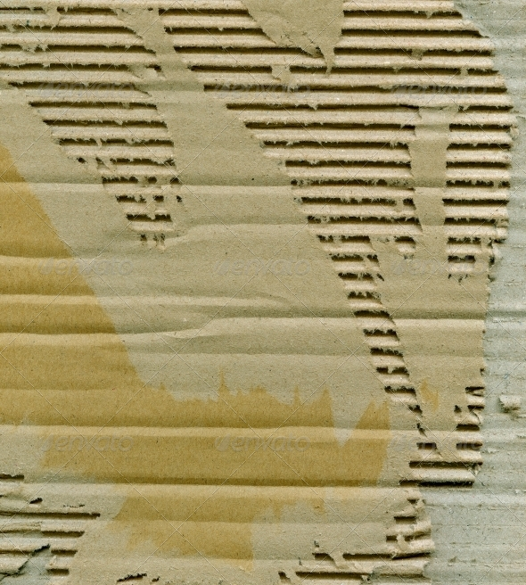 Torn cardboard - Miscellaneous Textures