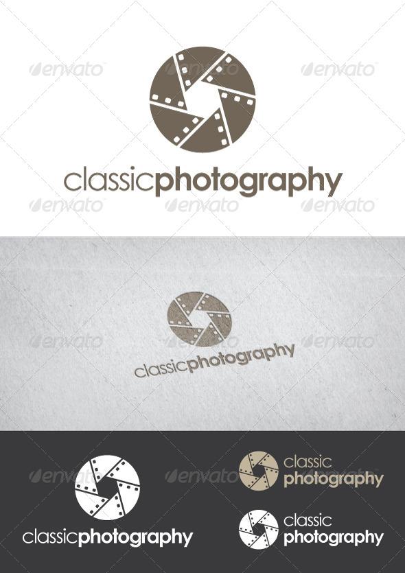 Classic Photography - Symbols Logo Templates