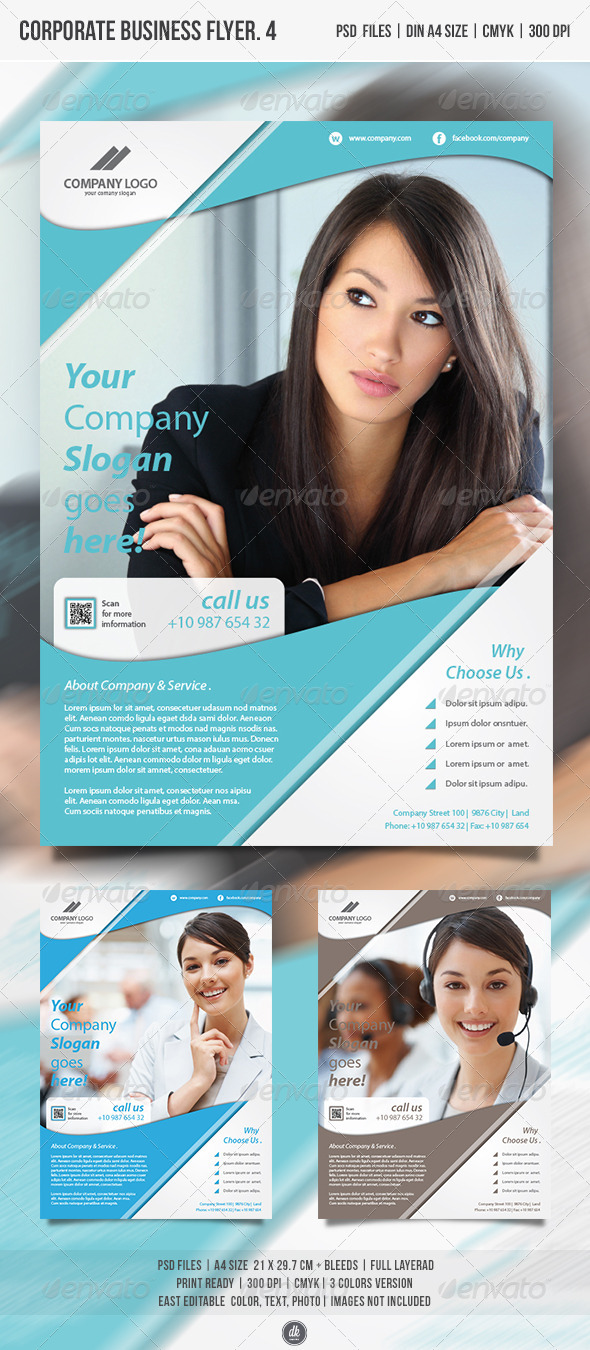Corporate Business Flyer Vol.4 - Corporate Flyers