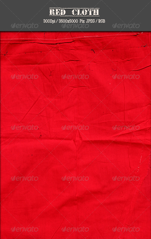 Red Cloth 2 - Fabric Textures