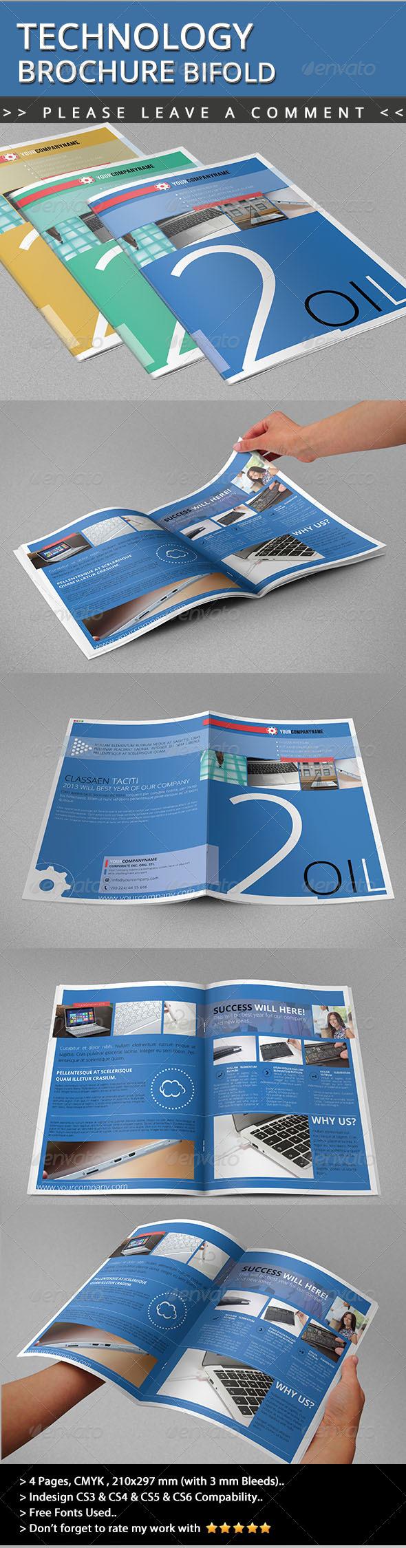 Technology Brochure Bifold - Informational Brochures