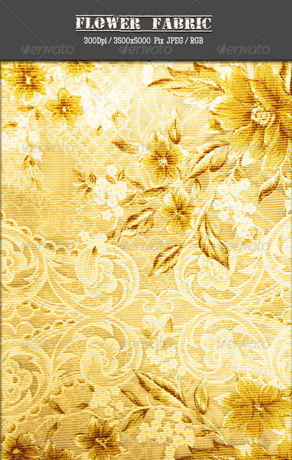 Flower Fabric 8 - Fabric Textures