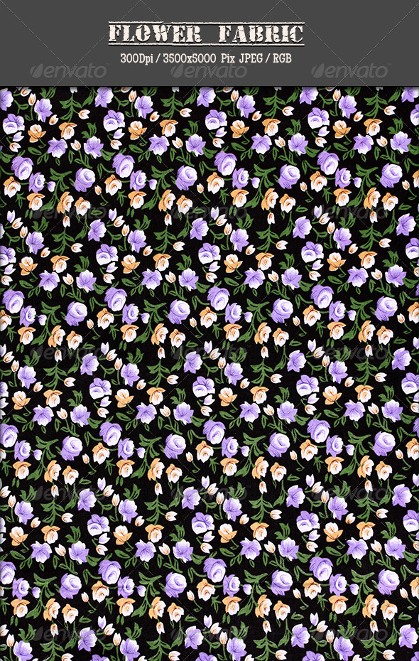 Flower Fabric 13 - Fabric Textures