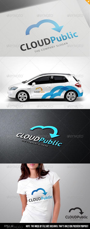 Cloud Public Logo - Humans Logo Templates