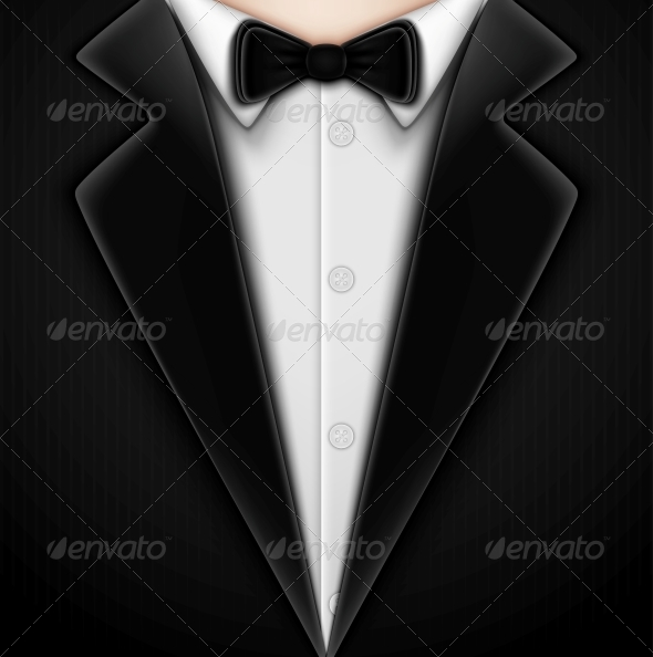 Tuxedo with Bow Tie - Retail Commercial / Shopping
