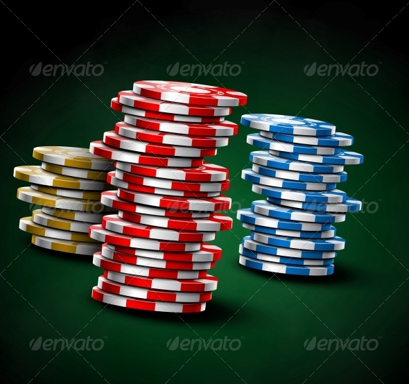Casino Chips - Sports/Activity Conceptual