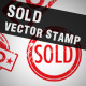 Sold Vector Stamp - GraphicRiver Item for Sale