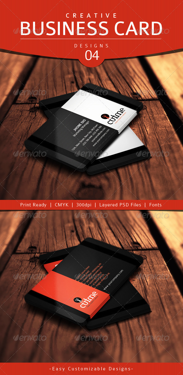Creative Business Card Design - 04 - Creative Business Cards
