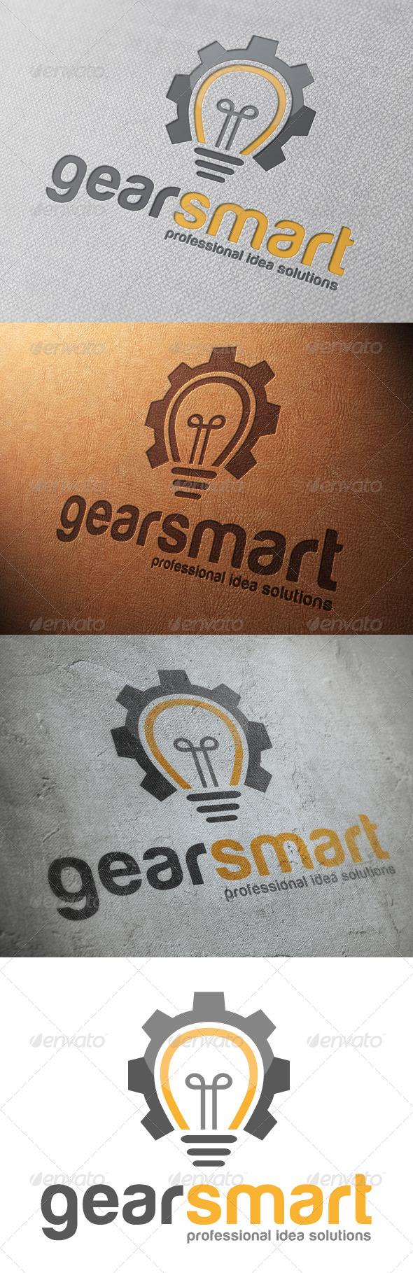 Idea Gear Logo Template - Objects Logo Templates