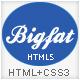 Bigfat - Business & Portfolio Template Nulled