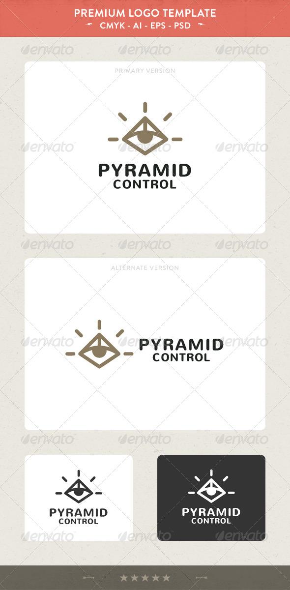 Pyramid Control - Symbols Logo Templates