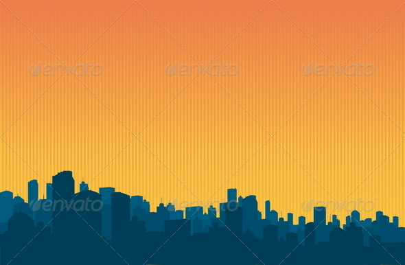 City Background - Backgrounds Decorative