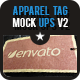7 Apparel Tag Mock Ups - GraphicRiver Item for Sale