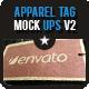 7 Apparel Tag Mock Ups - GraphicRiver Item for Sale