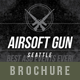 Airsoft Gun Brochure - GraphicRiver Item for Sale