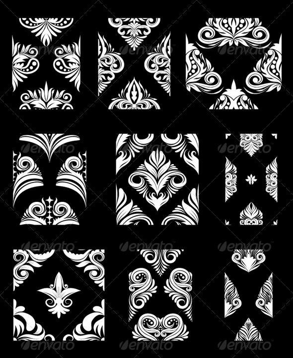 Ornamental Pattern Set - Patterns Decorative