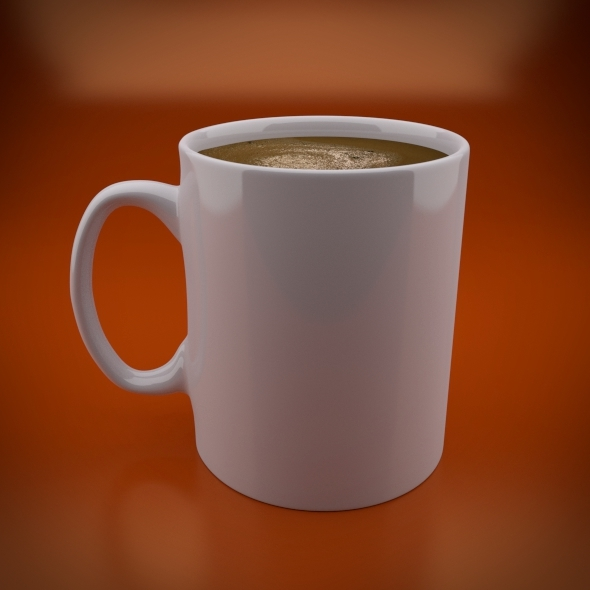 Simple Coffee Mug - 3DOcean Item for Sale