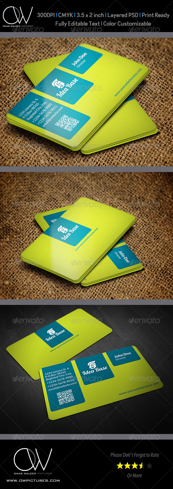 Corporate Business Card Vol.25 - Corporate Business Cards