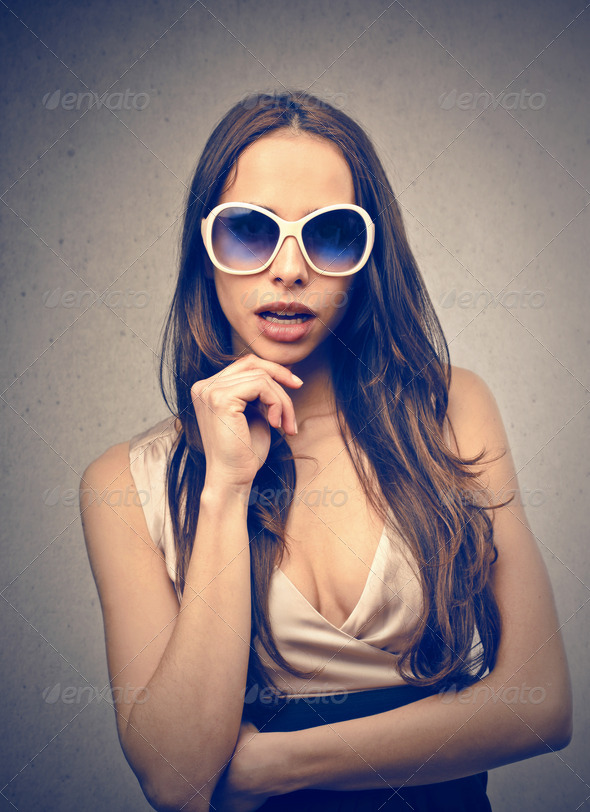 fashion woman - Stock Photo - Images