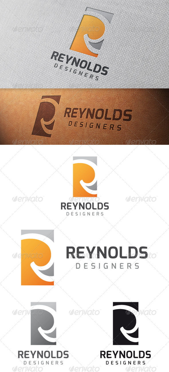 Reynolds Letter R Logo Template - Letters Logo Templates